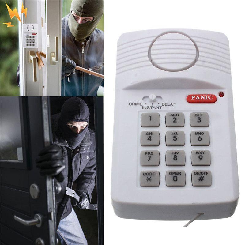 Σύστημα συναγερμού ασφαλείας με πληκτρολόγιο